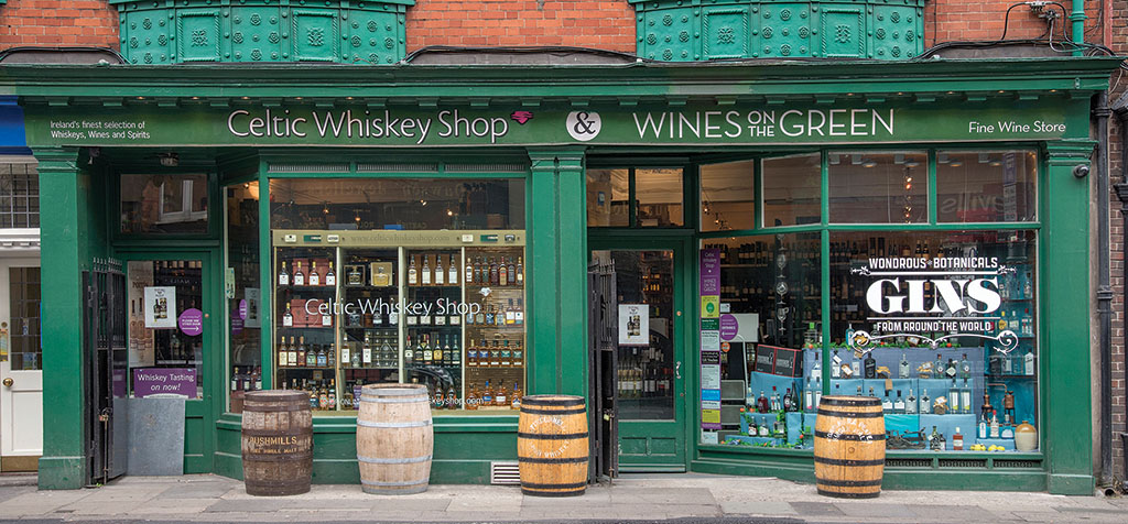 celtric whiskey shop Dublin